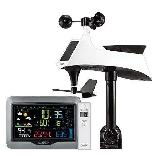 La Crosse Technology ws6867Wetterstation Farbig Semi-Pro mit WiFi-Schwarz