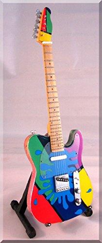 Brad Paisley Guitarra en miniatura camuflaje Paisley Splash