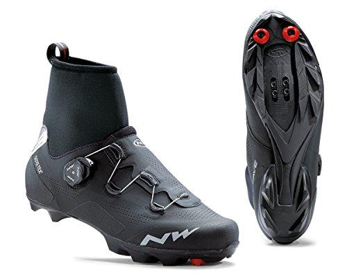Northwave Raptor GTX Winter MTB Fahrrad Schuhe schwarz 2020: Größe: 44