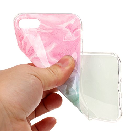 iPhone 8 7 Custodia, SportFun Slim Flexible TPU Custodia Protettiva in silicone per iPhone 8 7 Case (01) 02