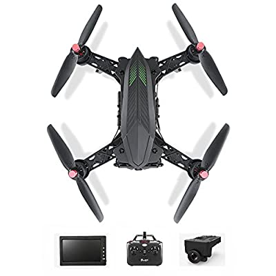 Koeoep Bugs6 FPV Racing Drone with Camera Live Video 2.4GHz 4 Chanel 6 Axis Gyro RC Quadcopter (Drone with FPV Camera) by MJX