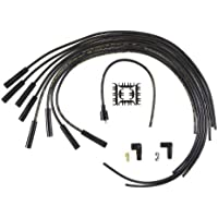 ACCEL 4040K SuperStock 8mm 4000 Series Black Graphite Spark Plug Wire Set by (4000 Car Series)