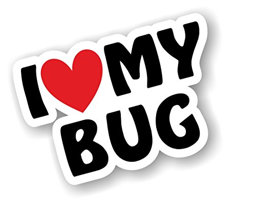 i-love-heart-luv-my-bug-design-for-vw-beetle-enthusiast-vinyl-car-sticker-decal-110x75mm