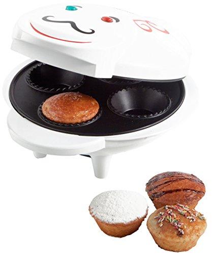 Brandani Macchina per Muffins, in Alluminio, Colore Bianco