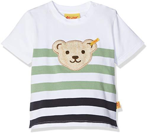 Steiff Baby-Jungen T-Shirt 1/4 Arm, Mehrfarbig (Y/D Stripe|Multicolored 0001) 86