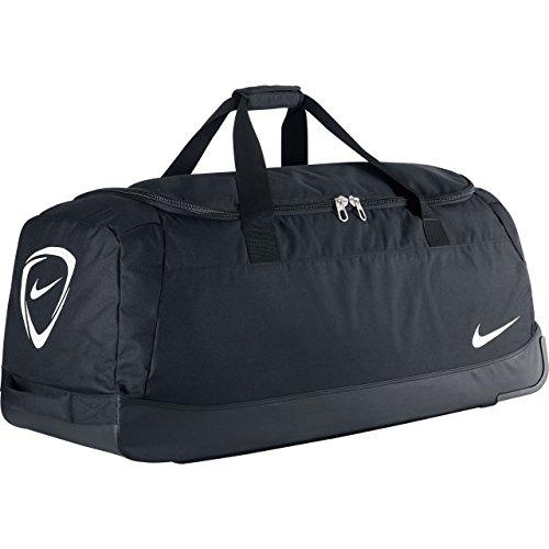 NIKE Sporttasche Club Team Roller Bag 3.0, 82 x 35 x 38 cm, 120 Liter Black/White
