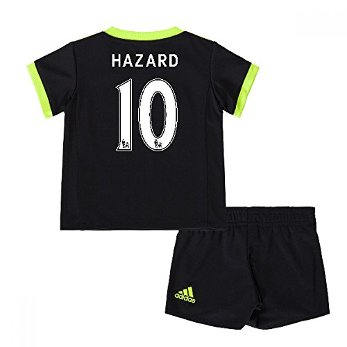 2016-17 Chelsea Away Mini Kit (Hazard 10) (Adidas Chelsea Replica Away Trikot)