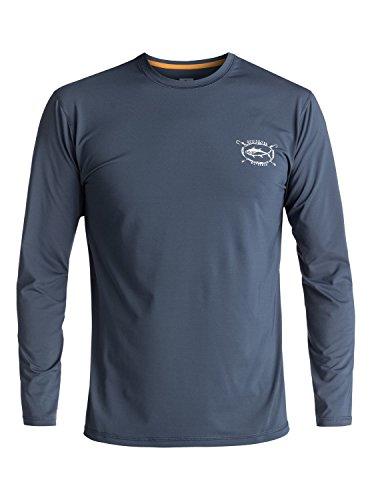 Quiksilver Waterman Chill - Amphibian Long Sleeve UPF 50 Surf T-Shirt - Männer