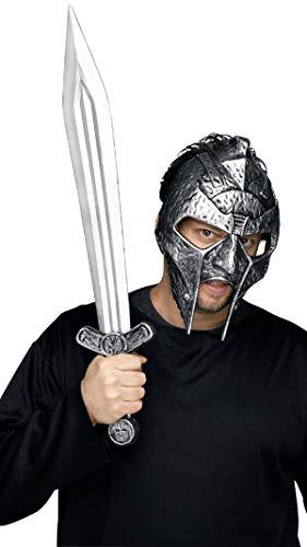 Römischer Soldat Helm Römischen Kostüm Zubehör - Fancy Me Herren Römischer Gladiator Krieger