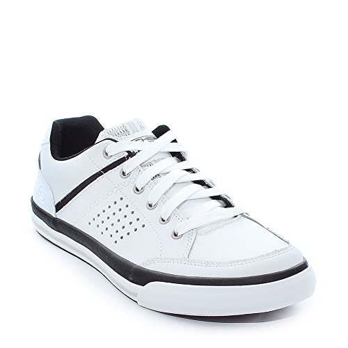 Skechers Diamondback Rendol, Low Athletic Sneakers Hombre / Blanco