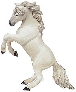 Papo - Figura Caballo alzado Blanco (2051521.0)