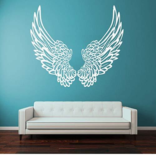 Yzybz Wandtattoos Große Flügel Engel Dekoration Dekorative Wandkunst Abnehmbare Cartoon Vinyl Kindergarten Kinderzimmer Wandaufkleber
