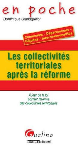 Les collectivités territoriales après la réforme