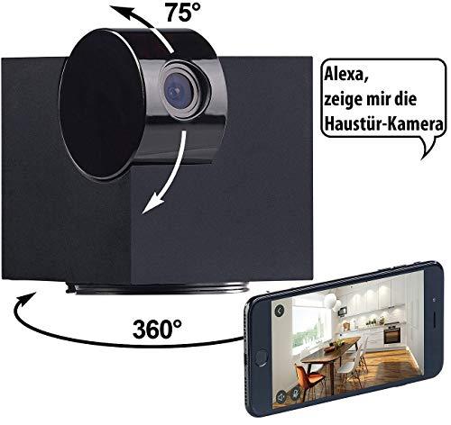 7links IP Cameras: WiFi-IP-Überwachungskamera, Full HD, App, Pan/Tilt, für Echo Show (WLAN IP Überwachungskameras)