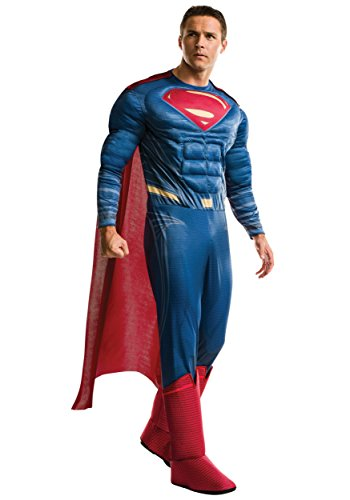 e Mens Deluxe Muscle Chest Superman Costume STD ()
