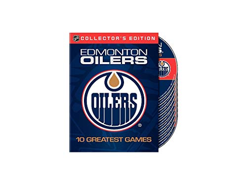 Edmonton Oilers 10 Greatest Games NHL DVD Box (10 DVDs)