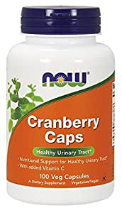 Cranberry concentrate - 100 gelules - Now foods