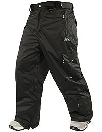 Trespass - Pantalones impermeables para esquiar modelo Turbocharge para hombre