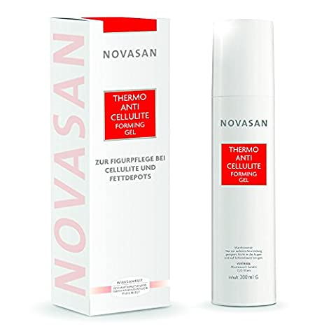 NOVASAN® THERMO ANTI-CELLULITE FORMING CREME-GEL 200ml | Lotion gegen Cellulite