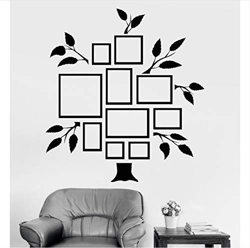 zwyluck Photo Tree Vinyl Tatuajes de pared Cuadros de árboles genealógicos para...