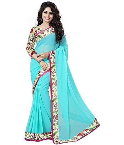 VINTAGE Girls cotton saree(VINTAGE OO7_multi colour_Freesize)