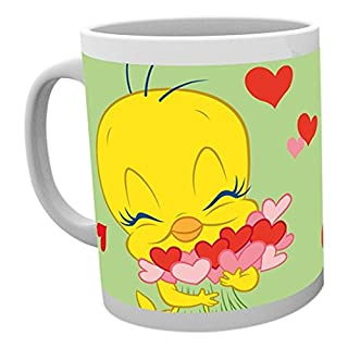 GB Eye Tweety Pie, Valentines Love Bird Becher, mehrfarbig