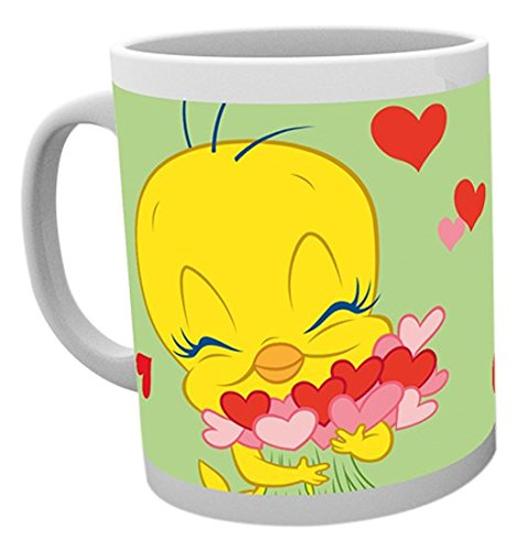 GB Eye Tweety Pie, Valentines Love Bird Becher, Mehrfarbig (Pie Box Holz)