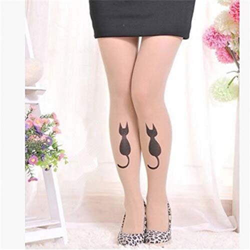 SUZNUO Frauen-sexy Tattoo-Strumpfwaren-Strumpf-niedliche Muster-Strumpfhosen-Strümpfe-Frühlings-Sommer-Strumpfhosen-Kleidung - Niedliche Strumpfhose Strumpfwaren