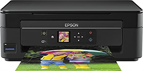 Epson Expression Home XP-342 Tintenstrahl-Multifunktionsdrucker (Drucken, Scannen, Kopieren, WLAN) Schwarz