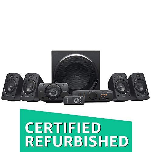 LogitechZ9063D-Stereo-Lautsprecher (mit 5.1Dolby SurroundSound, THX, 1000W, ideal für Fernseher und Wohnzimmereinrichtungen) (Generalüberholt)