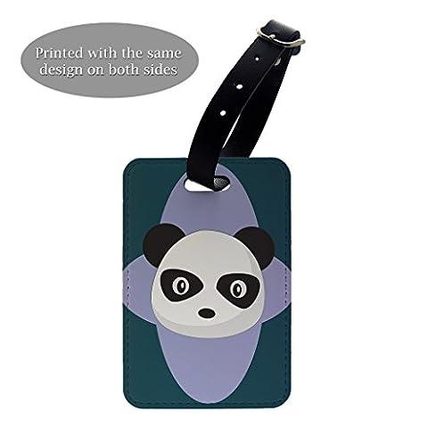 Panda Bär Cartoon Print Design Gepäck Koffer Gepäck Tag–P195