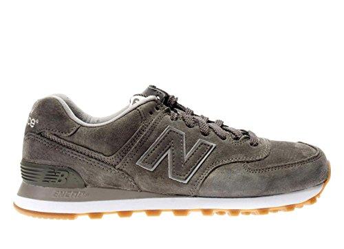 New Balance ML574FSC Sneaker Unisex, Grau - grau - Größe: 10.5