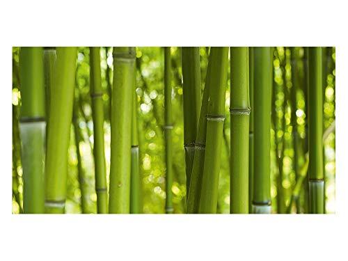 GRAZDesign Klebefolie Bambus Folie selbstklebend Fensterfolie Sichtschutzfolie für Badezimmer Bambusstamm / 100x57cm / 991000_100x57