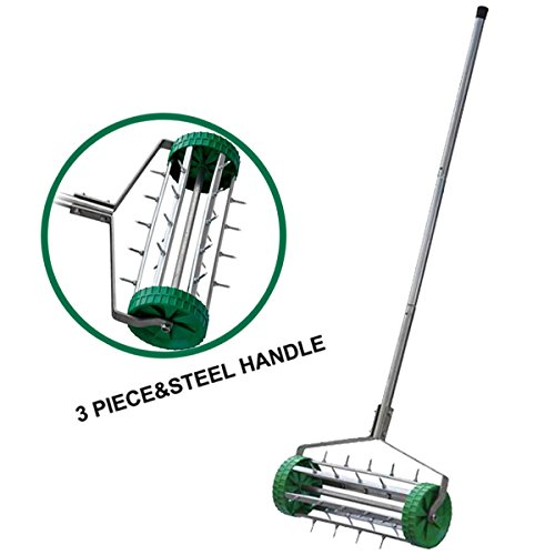 outdoortips-lawn-garden-spiked-rolling-rotary-aerator36cm-for-garden-lawn-care