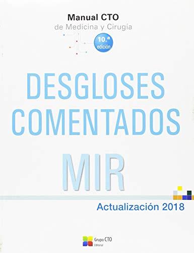 Manual CTO de Desgloses Comentados - Actualización 2018.