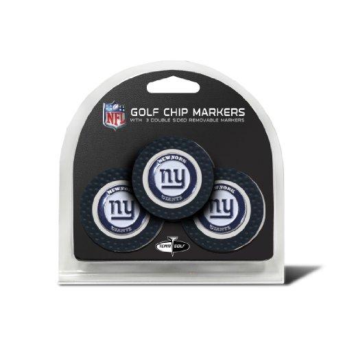 NFL New York Giants Golf Chip (3er Pack) (New York Giants Zubehör)