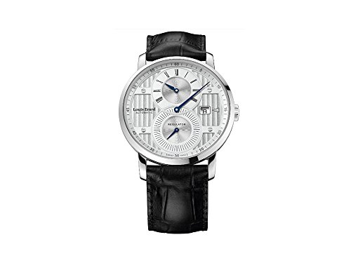 Montre Automatique Louis Erard Excellence Regulator, Argent, 86236AA01.BDC51