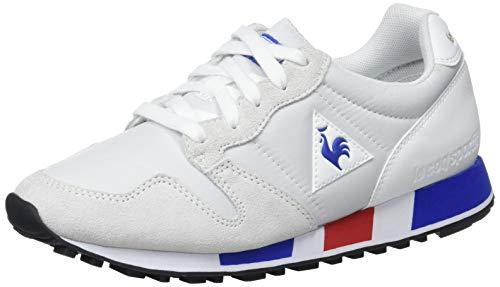 Le Coq Sportif Omega, Sneaker Unisex-Adulto, Bianco Optical White/Cobalt, 41 EU