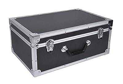 Crazepony-UK Carrying Case Aluminum Hard Travel Box Professional Advanced for Drone DJI Phantom 4 Quadcopter (also for Phantom 3)