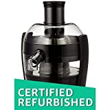 (Certified REFURBISHED) Philips Viva Collection HR1832/00 1.5-Litre Juicer (Ink Black)