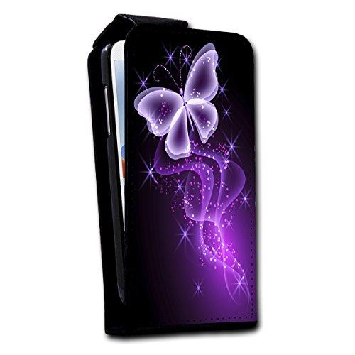 Flip Style vertikal Handy Tasche Case Schutz Hülle Foto Schale Motiv Etui für Apple iPhone 6 - 4,7 Zoll - V4 Design10 Design 8