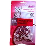 O'Cat Chicken & Cod Granule Cat Treat 50 Gms (Treat For Cats)
