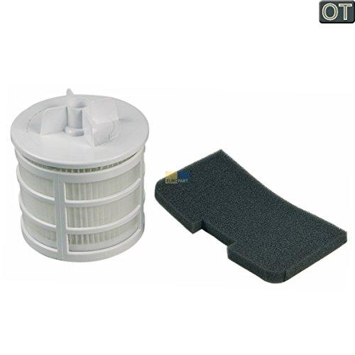 Candy Hoover 35601328 ORIGINAL Filter Luftfilter Abluftfilter Lamellenfilter + Motorschutzfilter Motorfilter Schaumfilter U66 z.T. SPRINT EVO Staubsauger