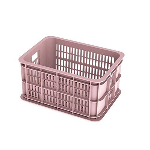 Basil Crate S Fahrradkasten Pink 40 x 30 x 21 cm