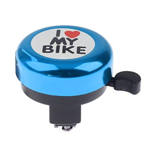 Sharplace Kinder Erwachsene Fahrrad Radfahren Schallhorn Glocke Klingel Hupe Mit verstellbaren Lenkerhalterung - Blau