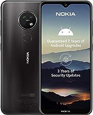 Nokia 6830AA002184 7.2 Smartphone 16 cm, 128 GB Internminne, 6 GB RAM, Dual-Sim, Antracit