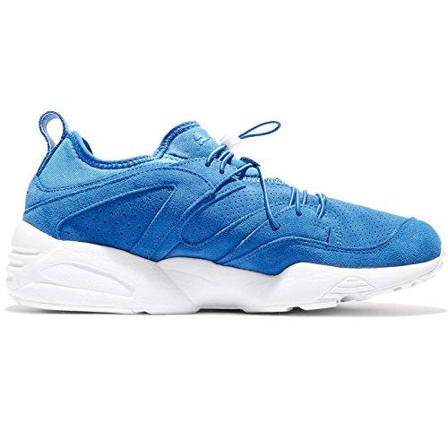 Chaussures Puma Platform Gold Womens Français Bleu-français Bleu-puma Blanc