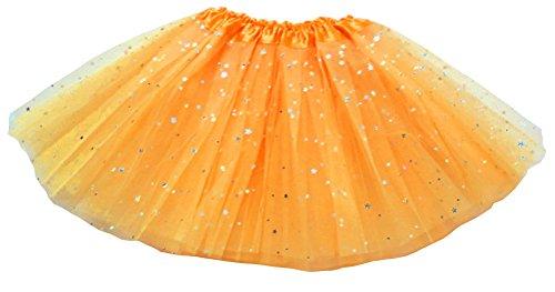 Dancina Mädchen Tüllrock Tutu Ballettrock Classic 8-13 Jahre Gold Glitzer