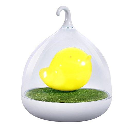 Preisvergleich Produktbild Nachtlicht Lampen ICOCO Nachttischlampe Niedlich Vögelkäfig Nachtlicht USB aufladbar LED-Lampe mit USB-Ladekabel für Baby Kinder