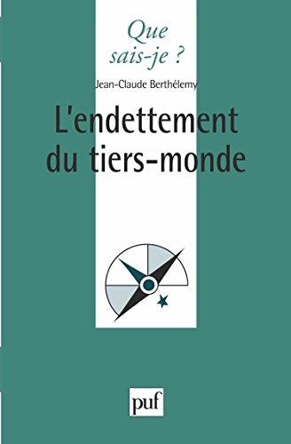 L'endettement du Tiers monde par Jean-Claude Berthélemy